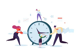 Gestion du temps entreprise